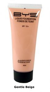<b>BYS Liquid Foundation with SPF15 - Gentle Beige</b>